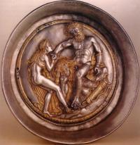 Паница с Херакъл и Авге