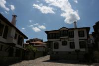 Изглед от етнографско-архитектурния комплекс